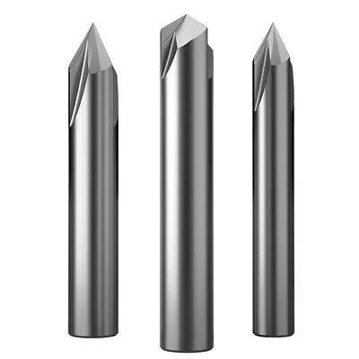 KLOT Solid Carbide 60°//90° Degree Chamfer/&Spotting Drill 3mm-20mm Countersink