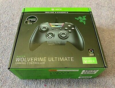 Razer Wolverine Ultimate Gaming wired Xbox One Windows 10 PC controller