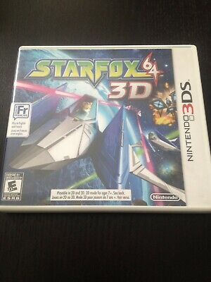 Star Fox 64 3D (Nintendo 3DS, 2011) Complete