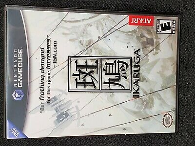 Reproduction Ikaruga (Gamecube) Manual and Cover