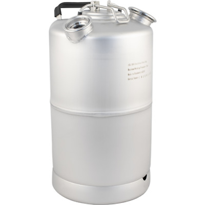 2 Head Stainless Steel Wash Out Beer Line Cleaning Keg (15L/3.9G) with Handle
