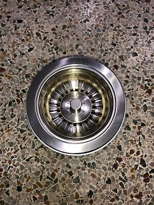 Rohl 735STN Satin Nickel Basket Strainer without Pop-Up