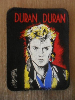 Duran Duran face vintage group music rock pop patch Sew On