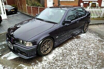 BMW E36 Compact, MAPPED, M-Sport, M52B25, Techno Violet, NOT BEEN DRIFTED