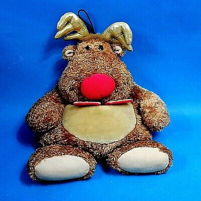 Reindeer Cuddles Shaped Hot Water Bottle Cover