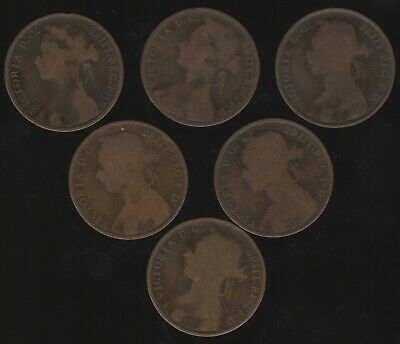 Mix Of Victoria One Penny Coins | Bulk Coins | Pennies2Pounds