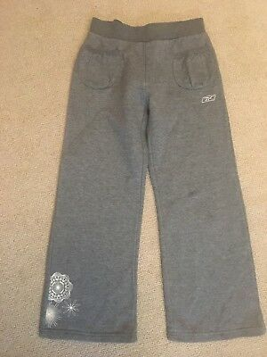 Reebok Grey Tracksuit Bottoms - Approx age 6 years