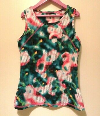 Marks and Spencer Girls Sleeveless Racer Back Active Wear Vest Top ~ 10-11 years
