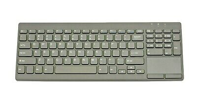 TG3 Low pro Keyboard KBA-TG95-BRUN-US, Black, USB, Number Pad, Right Touchpad