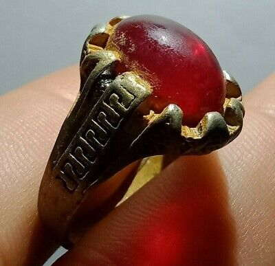 Ancient medieval viking SILVER Ring Musueum Quality Artifact