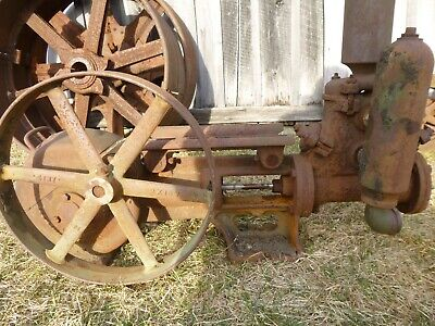 Antique F E Myers & Bro Self Oiling Bulldozer Pump For  Hit And Miss Engine
