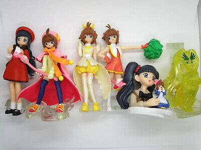 "CardCaptor Sakura 3.5"" Figure HG Series Set Collection Gashapon Bandai2004 JAPAN"