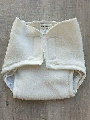 Size 000 Baby Nappy Cover 0-3 Months White Target GUC