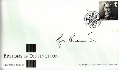 Sir Roger Bannister Hand Signed 4 Minute Mile Running Athletics Autograph FDC.