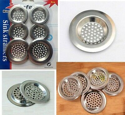 SINK strainer kitchen drain plug hole bath basin steel hair catcher cover filter