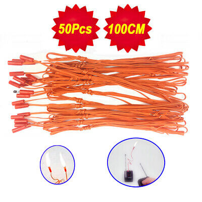 50 pcs 1M Igniter Match Wire for Fireworks Firing System electric wire
