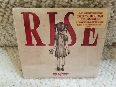 Rise [Deluxe Edition] [Digipak] by Skillet, (Christian Rock) (CD, DVD) NEW!