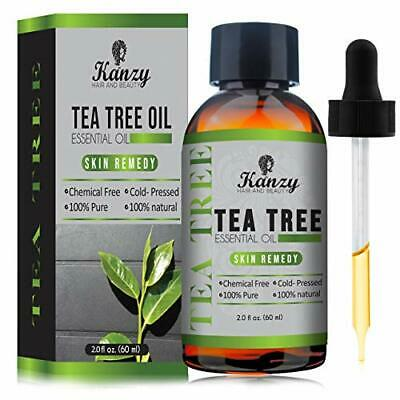 NEW Kanzy Essential Tea Tree Oil Treatment For Face Hair Nail Acne Blemishes Pu