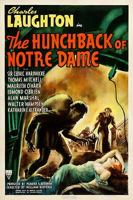 The Hunchback of Notre Dame - 1939 - Charles Laughton Maureen O'Hara Drama DVD