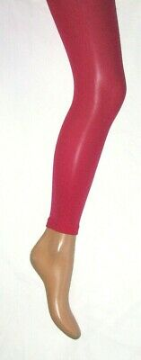 Pink Cerise Footless Tights Age 11-13. Girls