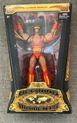 WWE Defining Moments ULTIMATE WARRIOR Elite Action Figure
