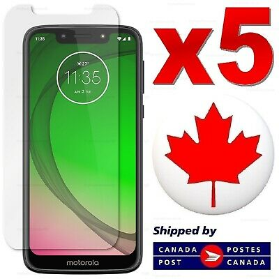 Tempered Glass Screen Protector For Motorola Moto E5 Play / Z3 Play / G6 G7 Play