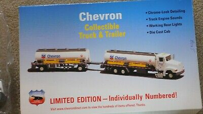 Chevron Collectible Truck & Trailer LImited Edition