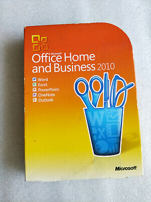 Microsoft Office Home and Business 2010 Retail Pack