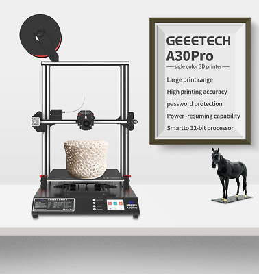 GeeetechA30 Pro Large 3D Printer Full touch screen 320*320*420 TMC2208 Driver
