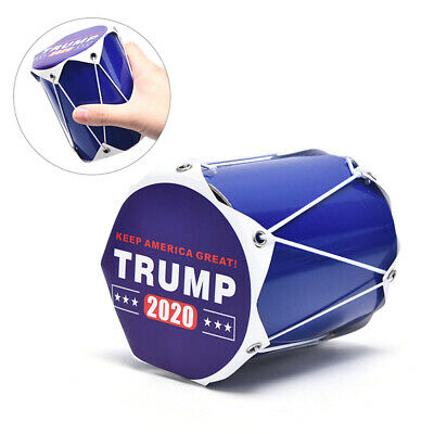 New Trump 2020 Cheering Drum Presidential Campaign Hand D-PN