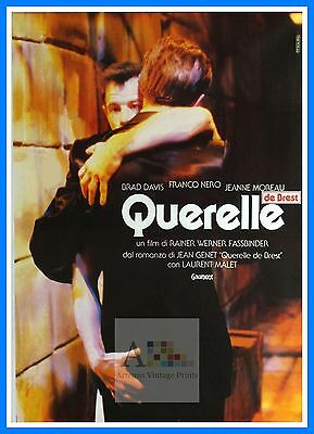 Querelle 4   Gay Themed Movie Posters Vintage Cinema