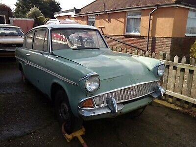 ford anglia rolling chassis rhd project