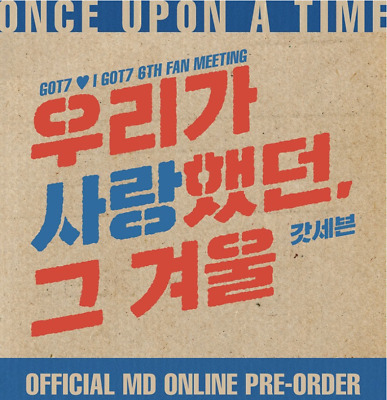 [Prer-order] I GOT7 6TH FANMEETING OFFICIAL MD +GIFT+TRACK (COMEBINE SHIPPING👌)