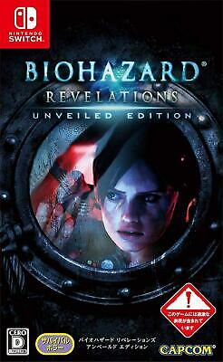 BIOHAZARD Resident Evil Revelations Unveiled Switch Capcom Nintendo Switch Japan