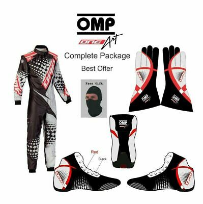 GO kart Race suit complete package, with free Shoes, gloves, Balaclava