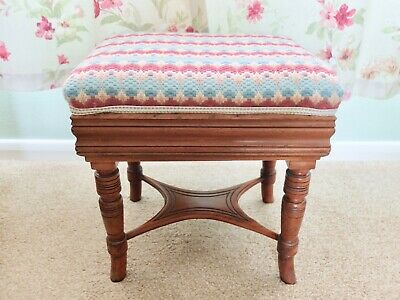 Turned Piano Stool Mahogany Early 20th century