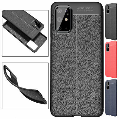 Shockproof Soft TPU Leather Phone Case For New Samsung Galaxy S20 Plus Ultra 5G