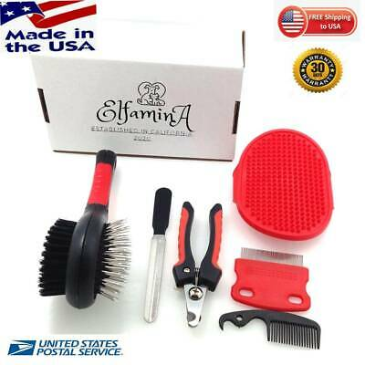 Hot Products 2020 Pets Grooming Tools Set (6), Pet Grooming Kit for Dogs & Cats