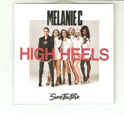 Melanie C / Mel C Ft Sink The Pink - High Heels - Brand New 8 Remix Cd Promo