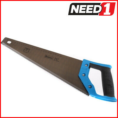 BERENT Hand Saw with Three Sides Grinding Teeth, 16""