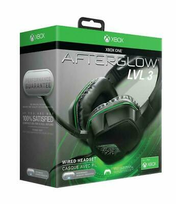 Xbox One Headset-Microsoft Licensed AFTERGLOW LVL 3 STEREO HEADSET Xbox One- NEW