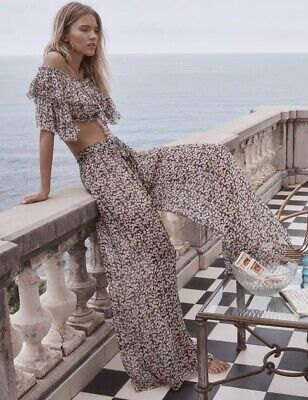 Zimmermann Prima Cherry Top And Pant Set