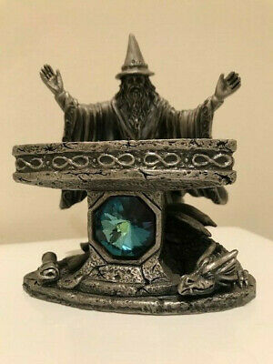 Myth and Magic Metal/Pewter Figure - The omnipotent wizard by S C Riley