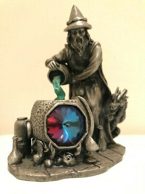 Myth & Magic - 3870 The Healing Potion - Rare Tudor Mint Wizard Witch Doctor