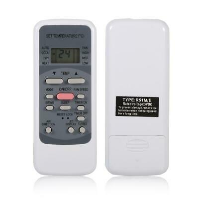Universal Air Conditioner Remote Control for Midea R51M/E Controller Replacement