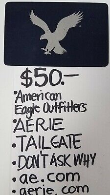 American Eagle Aerie ++ Gift Card $50 Save 10% Physical Delivery Only Ships Free