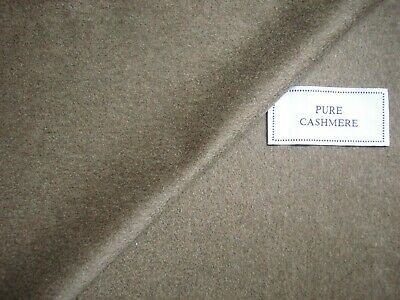 """Loro Piana 100% CASHMERE COATING FABRIC IN """"Donkey Brown"""" MADE IN ITALY - 2.5 m."""