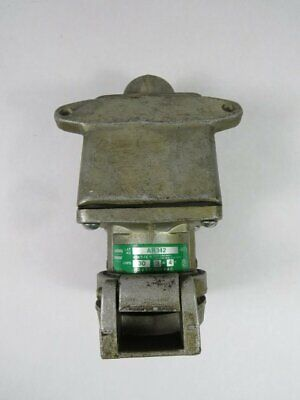 Crouse-Hinds AR342-M72 Arktite Receptacle w/ARE33 30A 600VAC 3W 4P  USED