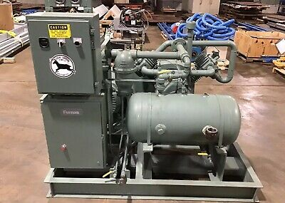 Dearing Creole 40HP Reciprocating AVL1111 Compressor 382Hours