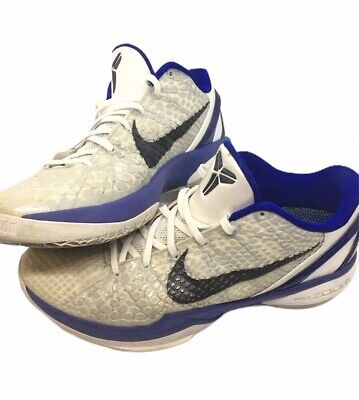 NIKE ZOOM KOBE Bryant V 5 Size 10.5 White Purple Yellow